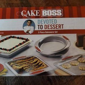Cake Boss 5pc Bakeware Set